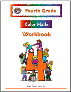 Fourth Grade Color Math Workbook - McRuffy Press