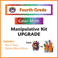 Fourth Grade Color Math Manipulative Kit Upgrade 3 to 4 - McRuffy Press