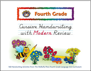 Fourth Grade Cursive with Modern Review Handwriting - McRuffy Press