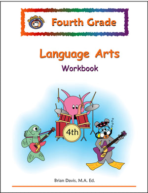 Fourth Grade Language Arts Workbook - McRuffy Press