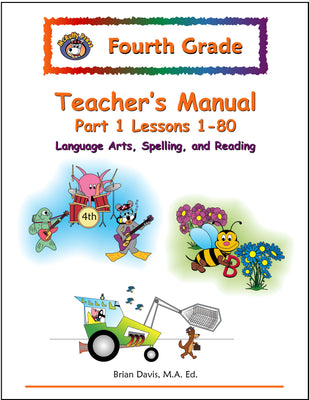 Fourth Grade Language Arts Teacher's Manual 1 - McRuffy Press