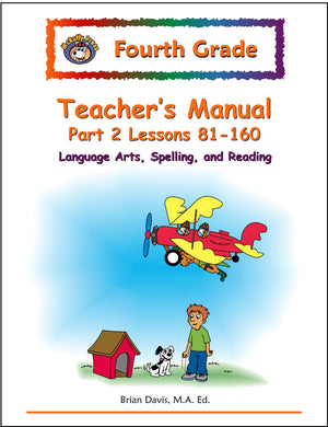 Fourth Grade Language Arts Teacher's Manual 2 - McRuffy Press