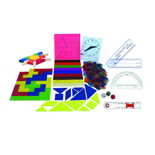 Fifth Grade Color Math Manipulative Kit