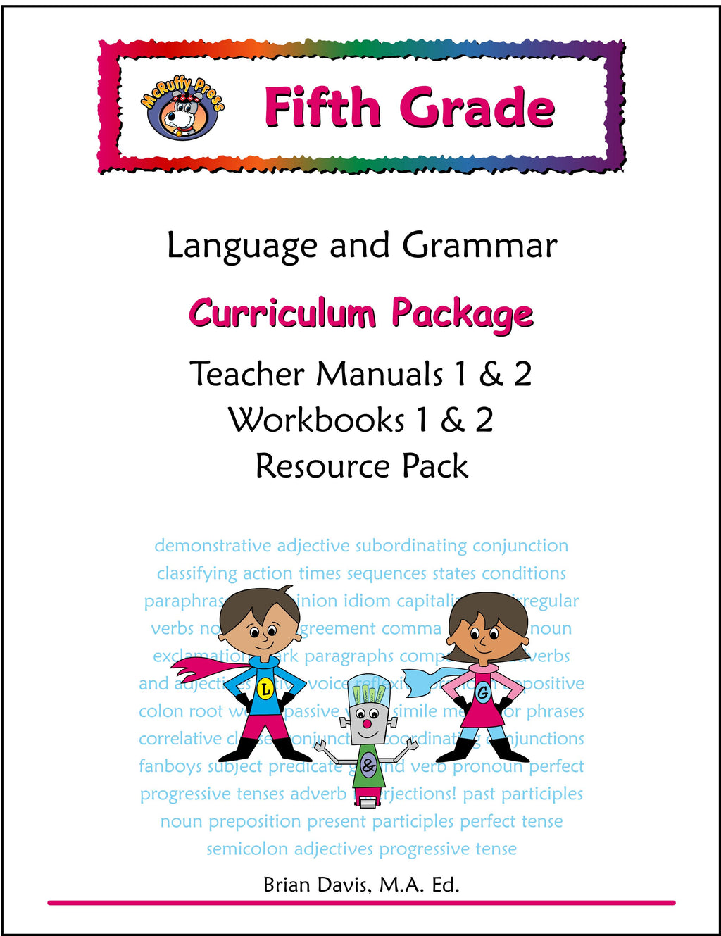 Fifth Grade Language and Grammar Curriculum Package - McRuffy Press