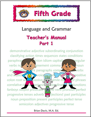 Fifth Grade Language and Grammar Teacher's Manual Part 1 - McRuffy Press