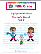 Fifth Grade Language and Grammar Teacher's Manual Part 2 - McRuffy Press