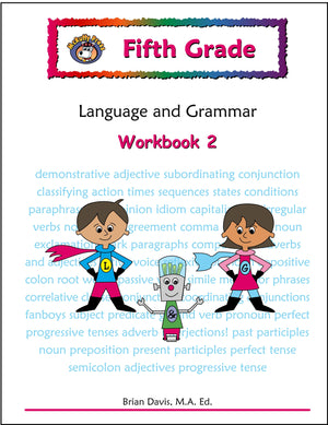 Fifth Grade Language and Grammar Workbook 2 - McRuffy Press