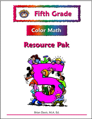 Fifth Grade Color Math Resource Pack - McRuffy Press