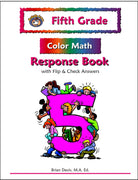 Fifth Grade Color Math Response Book - McRuffy Press