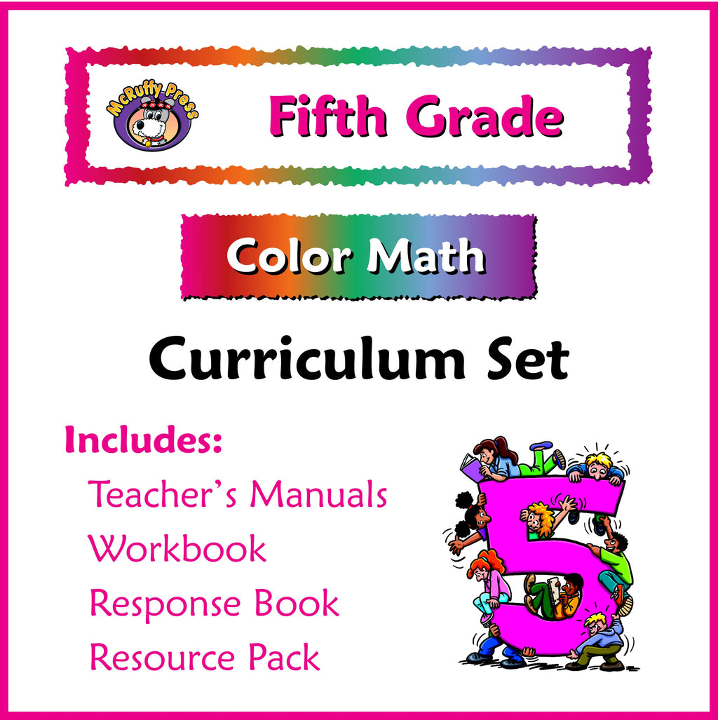 Fifth Grade Color Math Curriculum - McRuffy Press