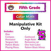 Fifth Grade Color Math Manipulative Kit - McRuffy Press