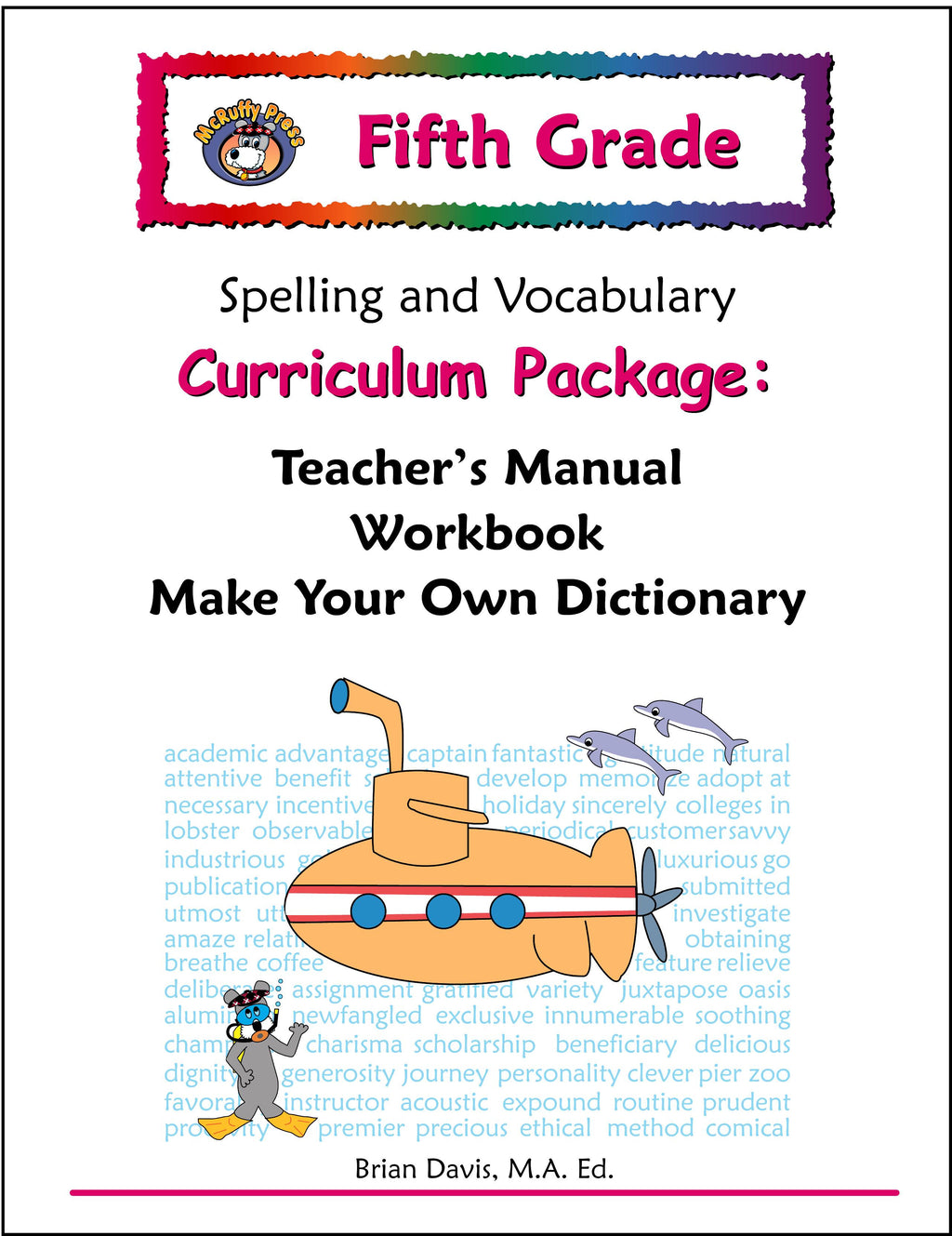 Fifth Grade Spelling and Vocabulary Curriculum Package - McRuffy Press