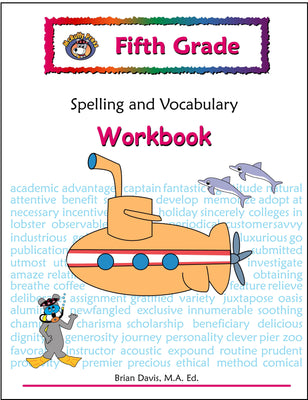 Fifth Grade Spelling and Vocabulary Workbook - McRuffy Press