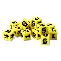 Soft Number Dice - McRuffy Press