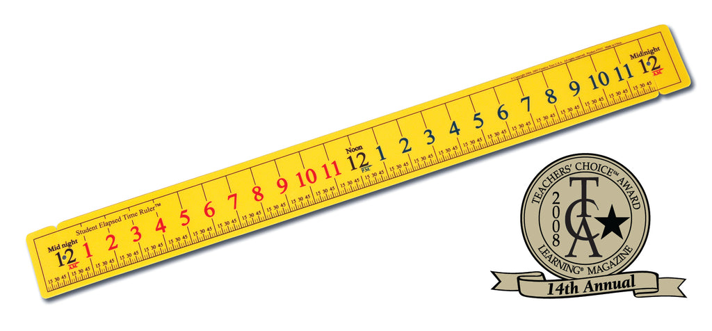 Elapsed Time Ruler - McRuffy Press