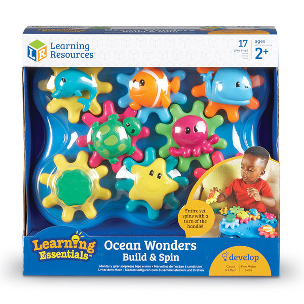 Build & Spin Ocean Wonders - McRuffy Press