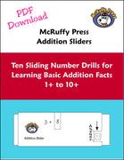 Addition Sliders Download - McRuffy Press