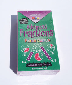 Advanced Fractions Flash Cards - McRuffy Press