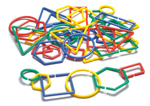 Attribute Shape 'N Links (set of 40) - McRuffy Press