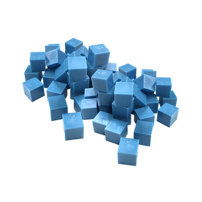 Base Ten Cubes (set of 50 - single color) - McRuffy Press