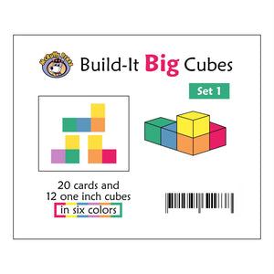 McRuffy Build-it Big Cubes Set 1 - McRuffy Press