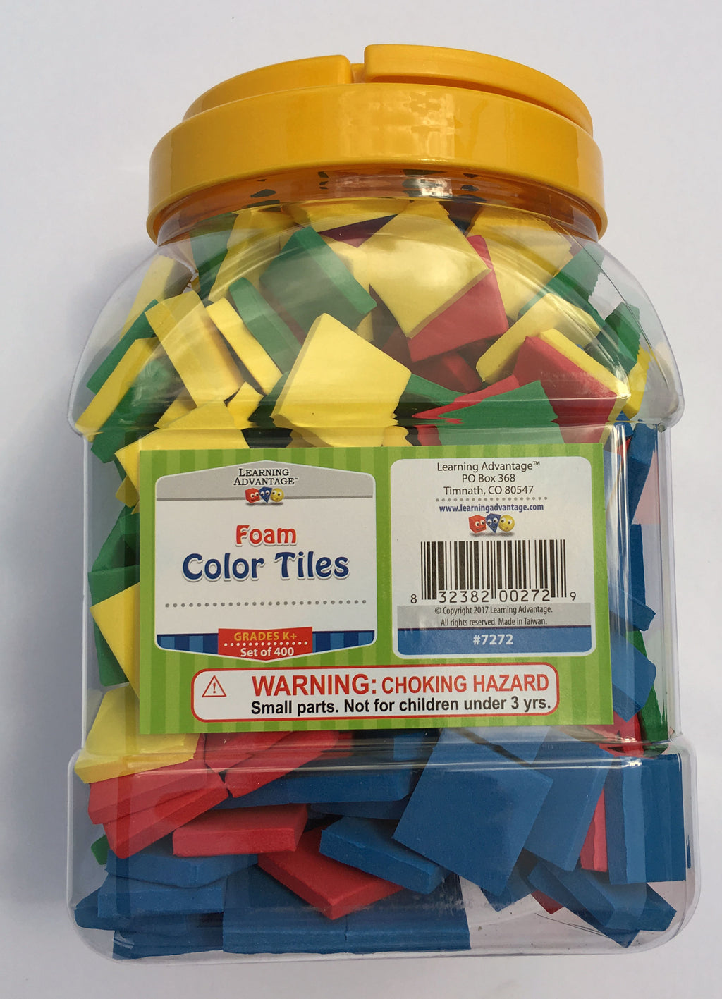 Color Tiles (Foam) - McRuffy Press