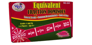 Equivalent Fraction Dominoes - McRuffy Press
