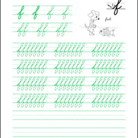 Letter Practice Flip and Draw Book - Cursive - McRuffy Press
