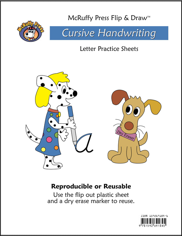 Letter Practice Flip and Draw Book - Cursive