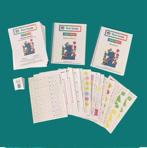 First Grade Color Math Curriculum - McRuffy Press