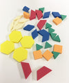 Foam Pattern Blocks - McRuffy Press