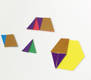 Fraction Modeling Pattern Blocks Set - McRuffy Press