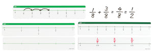 Fraction Number Line Set - McRuffy Press