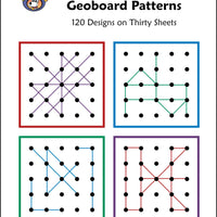McRuffy Geoboard Patterns Flip and Draw Book - McRuffy Press