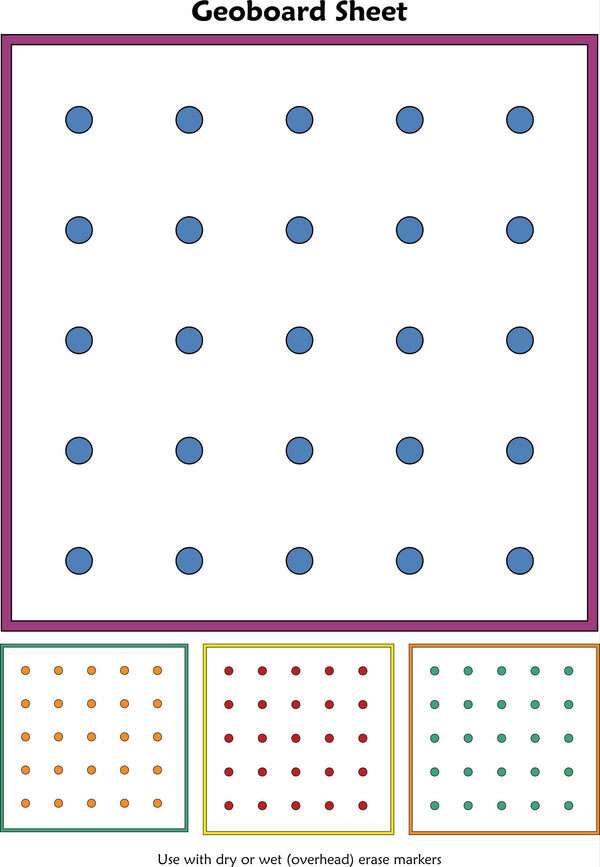 McRuffy Geoboard Pictures Flip and Draw Book - McRuffy Press