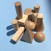 Wood Geometric Solids 12 Piece Set - McRuffy Press