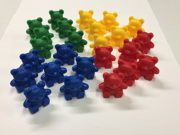 Bear Counters Bag (100 piece set) - McRuffy Press