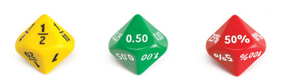 Jumbo Equivalence Dice - McRuffy Press