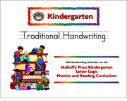 Kindergarten Letter Logic Traditional Handwriting Book