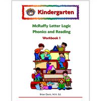 Kindergarten Letter Logic Phonics and Reading Workbook 1 - McRuffy Press