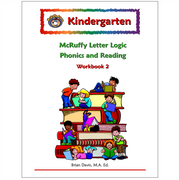Kindergarten Letter Logic Phonics and Reading Workbook 2 - McRuffy Press