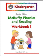 Kindergarten SE Phonics and Reading Workbook 1 - McRuffy Press