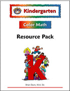 Kindgergarten Color Math Resource Pack - McRuffy Press