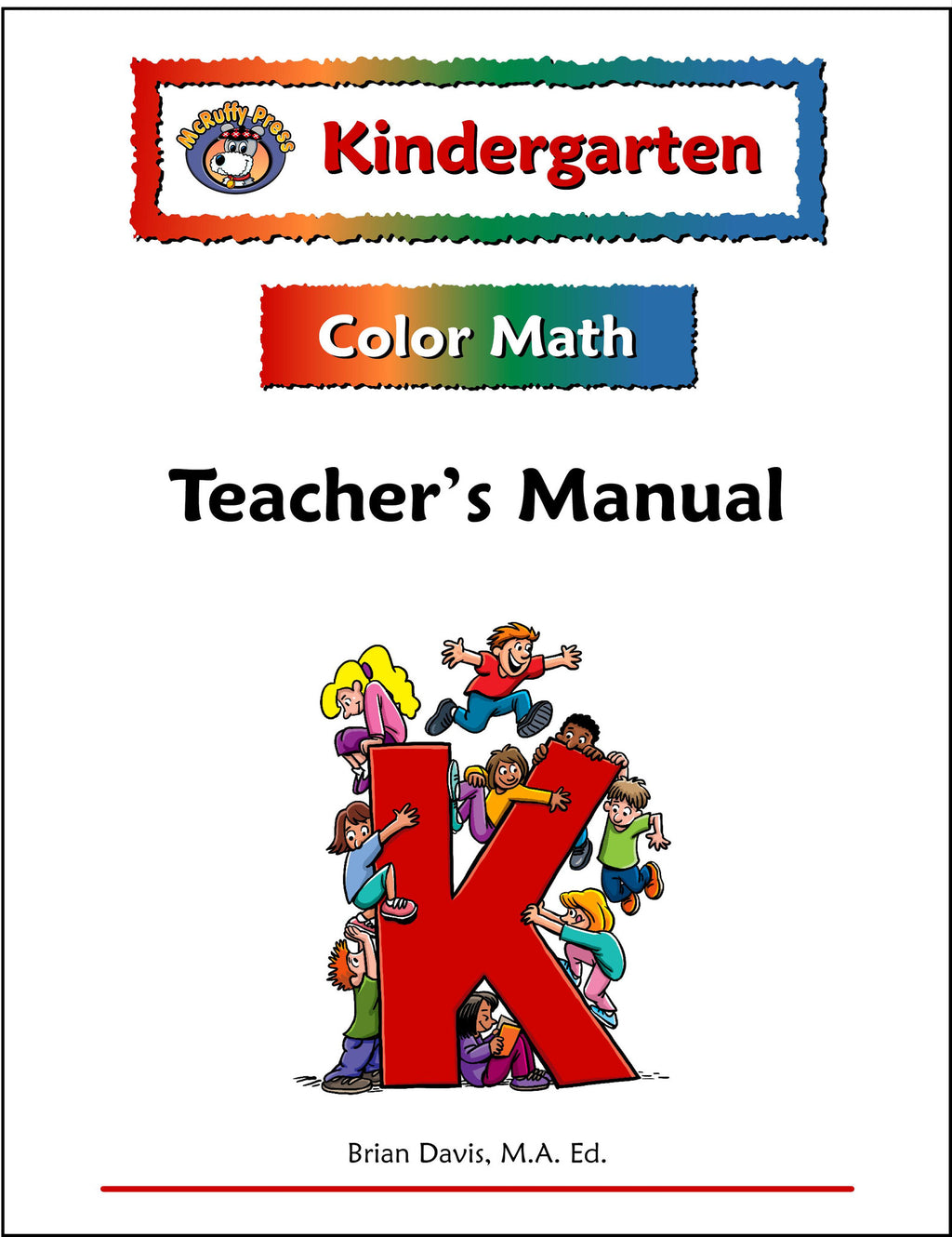 Kindergarten Color Math Teacher's Manual - McRuffy Press