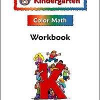 Kindergarten Color Math Workbook - McRuffy Press
