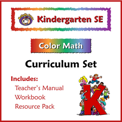 Kindergarten Color Math Curriculum - McRuffy Press