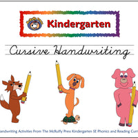 Kindergarten SE Cursive Handwriting - McRuffy Press