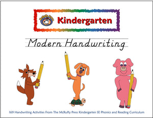 Kindergarten SE Modern Handwriting - McRuffy Press