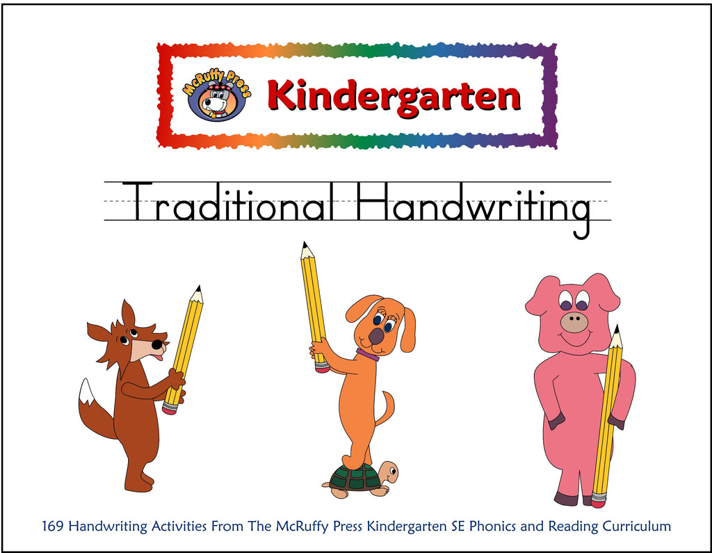 Kindergarten SE Traditional Handwriting - McRuffy Press