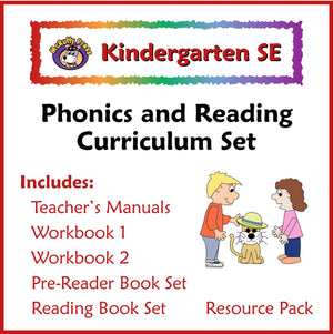 Kindergarten SE Phonics and Reading Curriculum - McRuffy Press